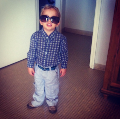 Too cool for preschool.