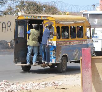 Public transportation, Dakar-style.