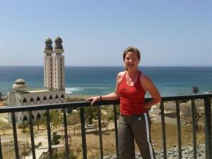 The Corniche, a favorite stretch for Dakar runners
