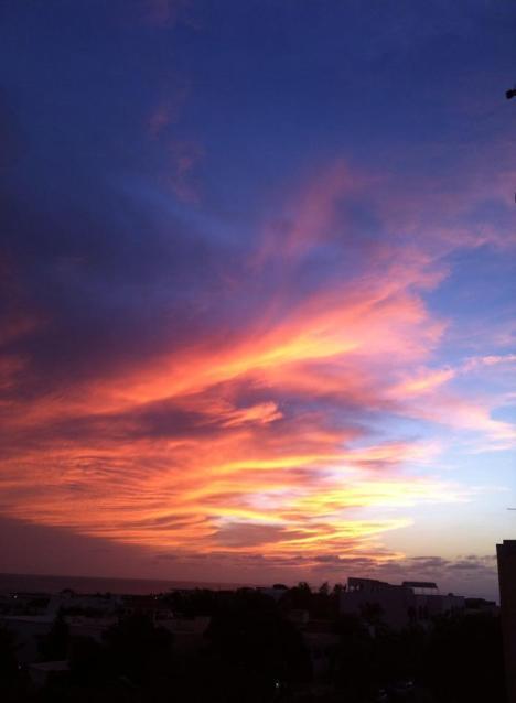 Yesterday evening