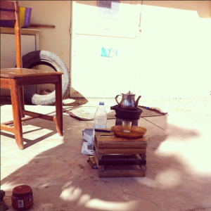 Attaya, Senegalese tea